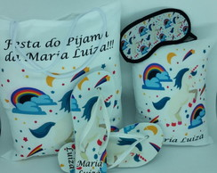 Kit Festa do Pijama Unicornio