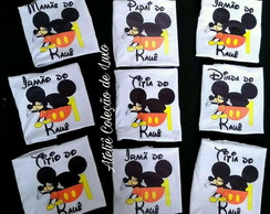 Camisetas personalizadas do Mickey