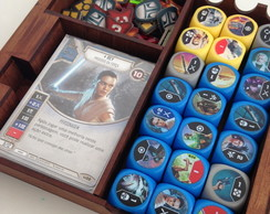 Caixa / Deckbox para 1 DECK Star Wars Destiny