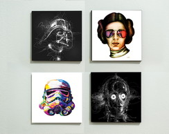Poster Star wars personas