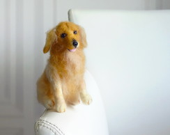 Golden Retriever - Miniatura de cachorro