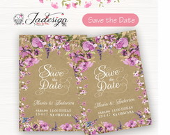 Save The Date Digital- Casamento