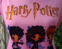 Camisa Rosa Harry Potter