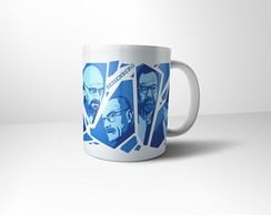 Caneca de Porcelana Breaking Bad