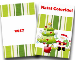 Revista Colorir Natal 14x10