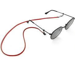 b9386a120c60f ... Cordinha Para Oculos Vermelha Cordão Salva Óculos Leitura