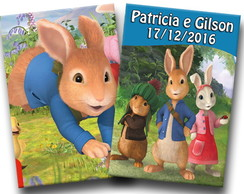 Revista de colorir Peter rabbit 14x10