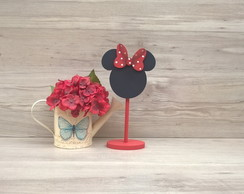 Lousa de mesa Minnie - com base