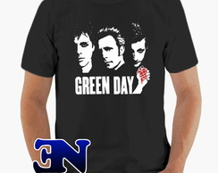 Camiseta Green Day - Banda - Punk Rock