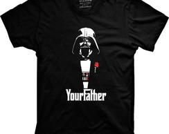 Camiseta Darth Vader YourFather (Star Wars)