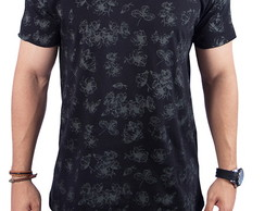 Camiseta Floral - Mohal Wear