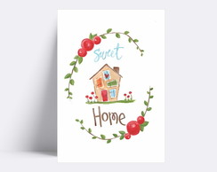 Placa decorativa / SWEET HOME 170