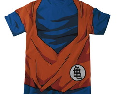 Camiseta Dragon Ball Z Goku - Infantil