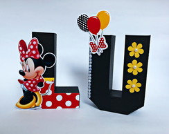 Letras 3D Minnie