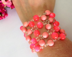 **BLACK FRIDAY** Bracelete Trançado Rosa