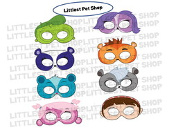 Máscaras Littlest Pet Shop