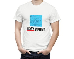 Camiseta Grey's Anatomy Post It