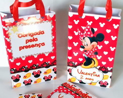 kit colorir com sacolinha minnie