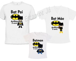 Camisetas Personalizadas do Batman aniversário do Batman