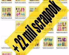 3520 Kits Papel Scrapbook Digital