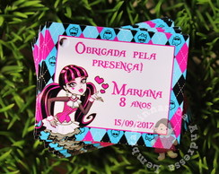 Tag MONSTER HIGH 4x5cm
