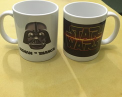 Caneca de Porcelana Personalizada do Star Wars