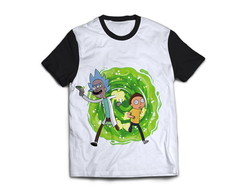 CAMISA DO RICK AND MORTY