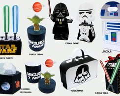 Kit Digital Arquivo de Corte Silhouette Star Wars 1