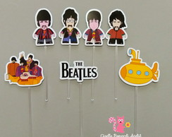 Kit 50 Toppers Beatle s