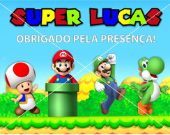 Arte Digital Tag Super Mario