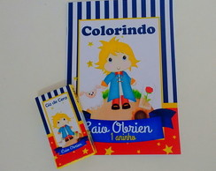 Kit de colorir pequeno principe