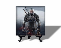 Azulejo Personalizado Quadro Decorativo The Witcher 4