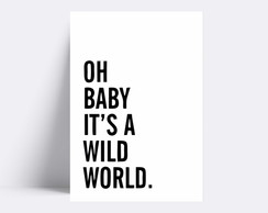 Placa decorativa / OH BABY 214