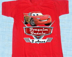 Camiseta divertida Carros Mcqueen m1