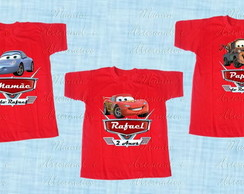 kit 3 Camisetas ou body divertida Carros