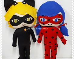 Lady Bug e Cat Noir