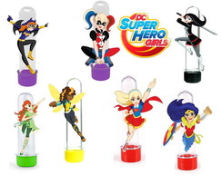 Tubete Dc super hero girls