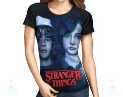 Camisa, Camiseta Stranger Things Pôster 3 - Estampa Total