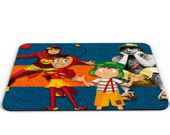 MOUSE PAD CHAVES E CHAPOLIN-M110