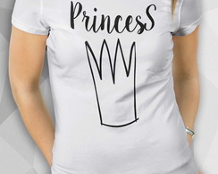 Camiseta - Princess - Fem BW