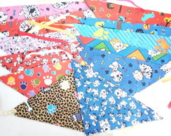 Bandana Pet - Kit com 25 unidades