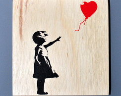 Quadro Banksy - Girl With Red Ballon