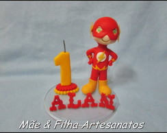 Flash + vela + nome