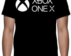 Camiseta Xbox One X - Estampa Total