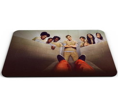 MOUSE PAD ORANGE IS THE NEW 1-M306
