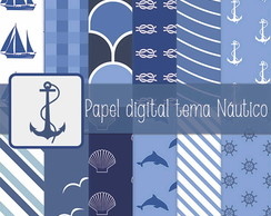 Papel digital tema Náutico