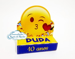 Porta chocolate duplo Emoji- Emoticon