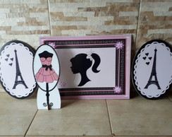 Kit Barbie Paris mdf