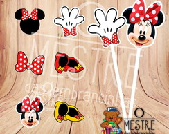 Topper Minnie Vermelha
