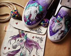 Kit Unicorn (AllStar + Bolsinha)
